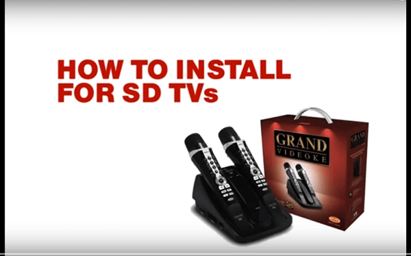 How to Install for SD TVs