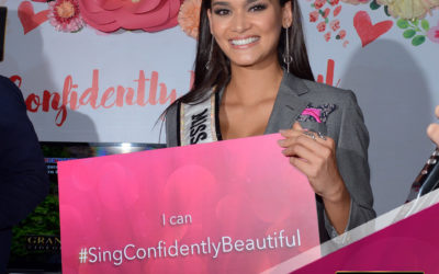 Queen Pia Sings Confidently Beautiful With a Heart